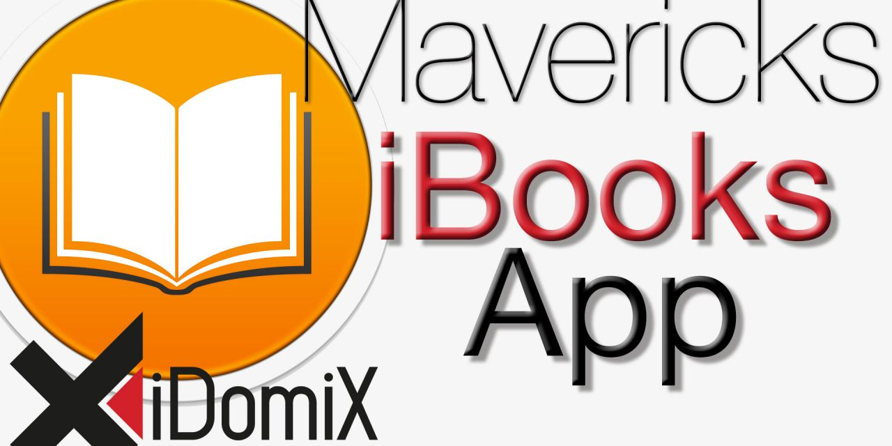 OS X Mavericks iBooks App