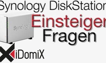 Synology DiskStation Einsteiger Fragen