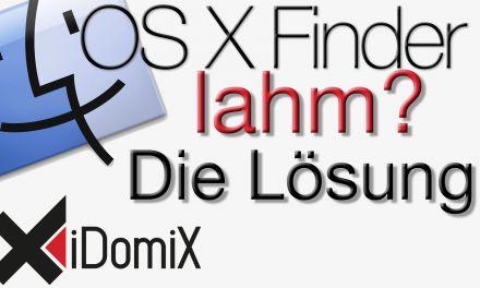 OS X Mavericks Finder langsam? So wird er wieder fix!