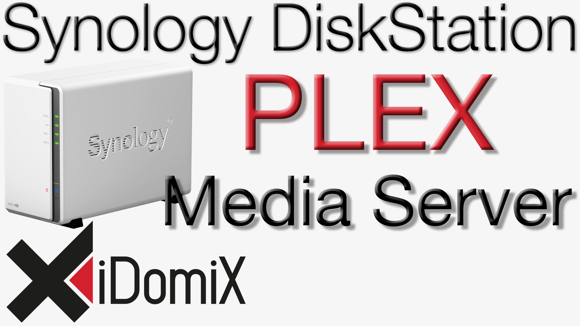 Synology DiskStation Plex Media Server einrichten