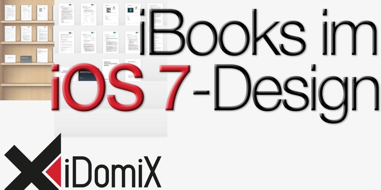 iBooks im iOS 7-Design