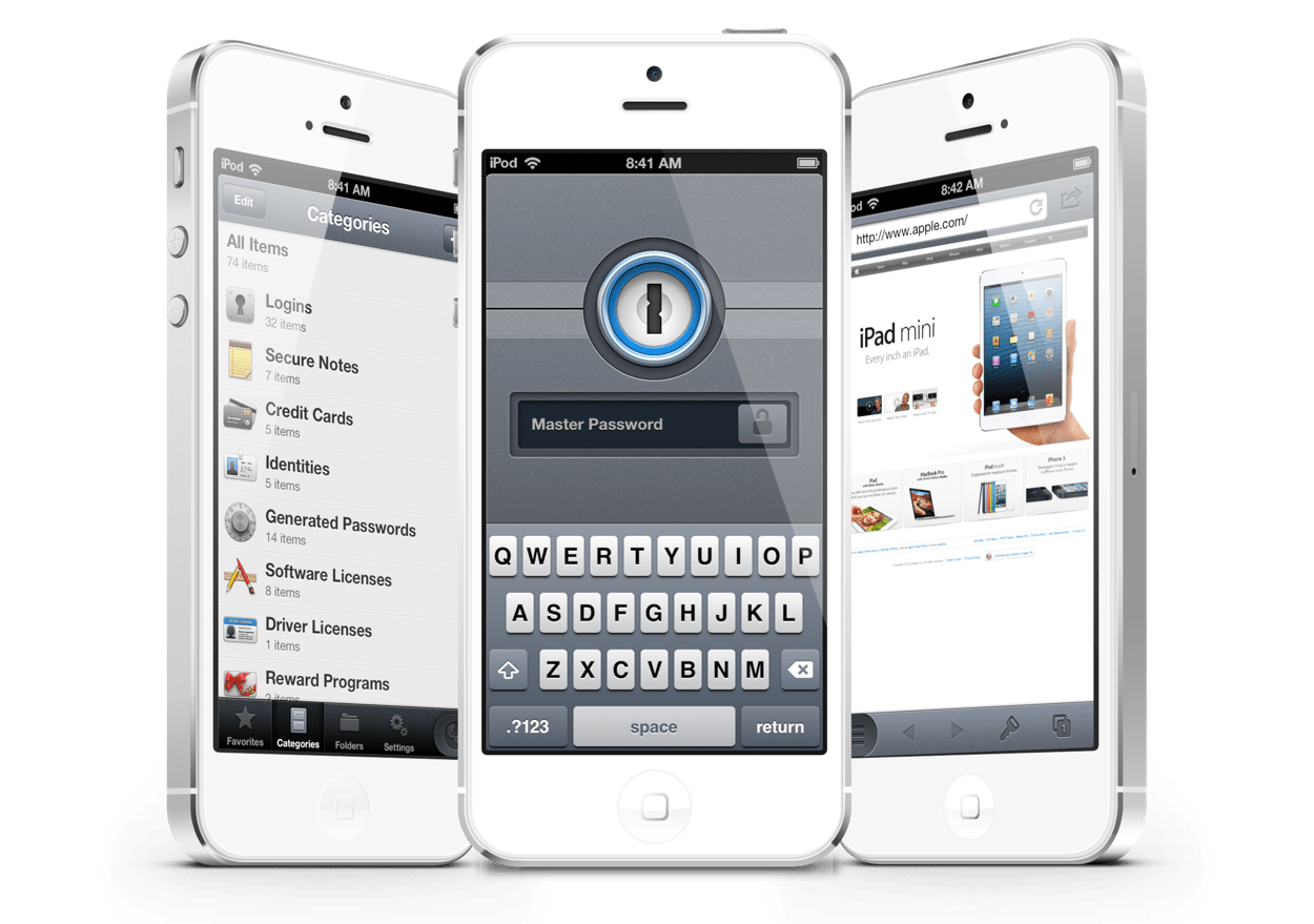 1Password für iOS