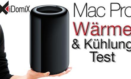 Mac Pro 2013 Wärmeentwicklung & Kühlung