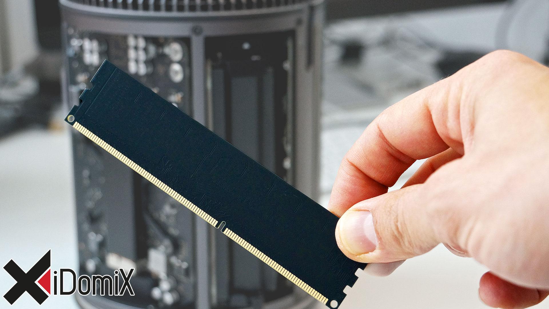 Mac Pro 2013 Arbeitsspeicher aufrüsten / tauschen