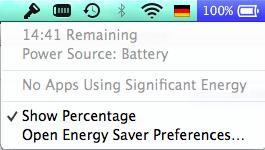 MacBook Air Akkulaufzeit