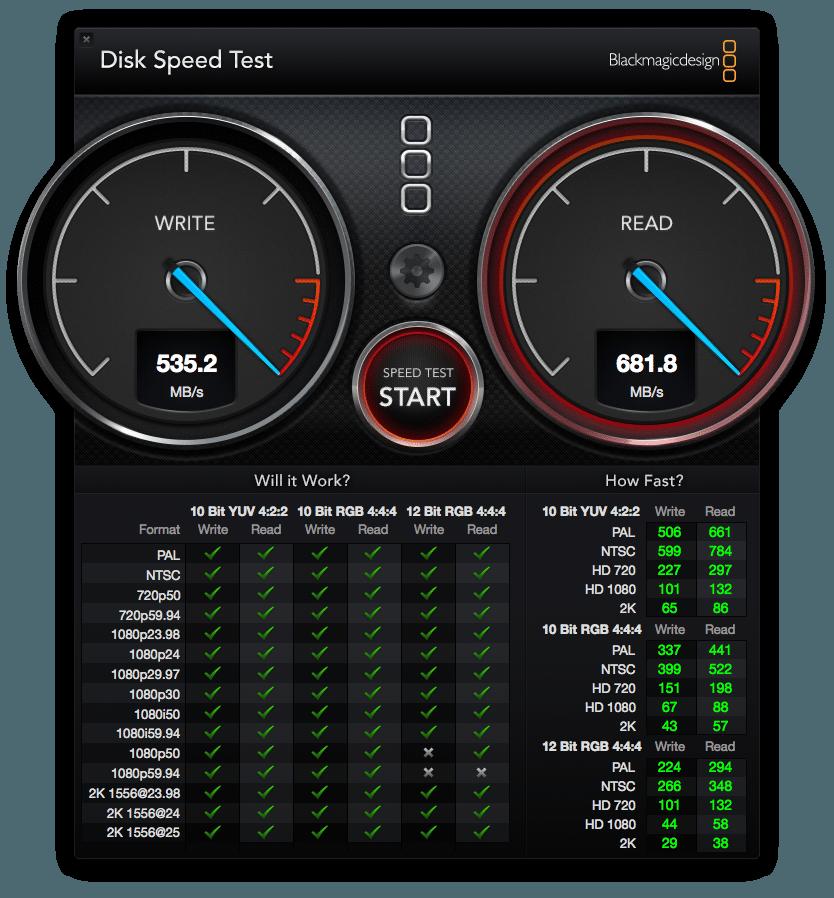 MacBook Air 2014 Geschwindigkeit
