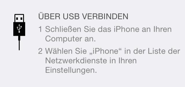 keine verbindung iphone pc