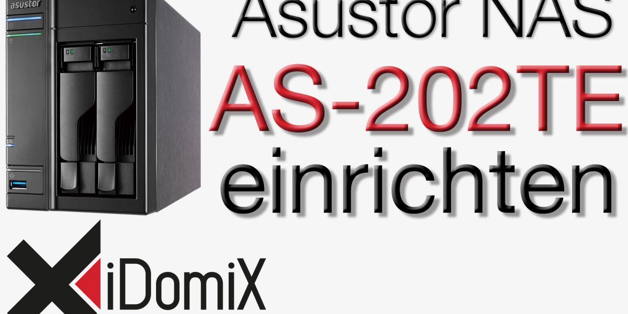 Asustor AS-202TE Übersicht und Einrichtung ADM