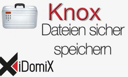 Knox – Dateien sicher speichern
