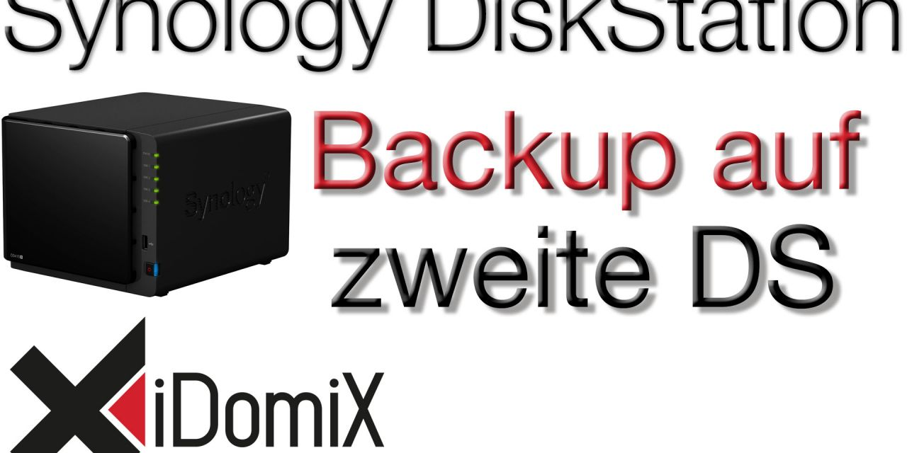 Synology DiskStation Backup auf zweite DiskStation
