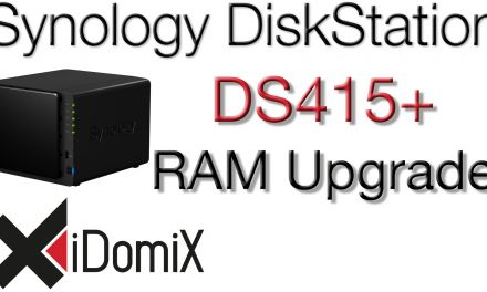Synology DiskStation DS415+ RAM Upgrade