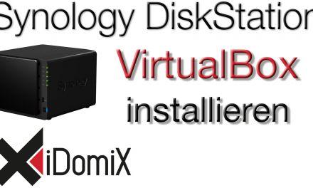 VirtualBox auf Synology DiskStation installieren