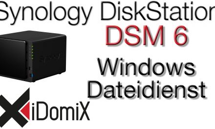 #320 Synology DiskStation DSM 6 Windows Dateidienst einrichten