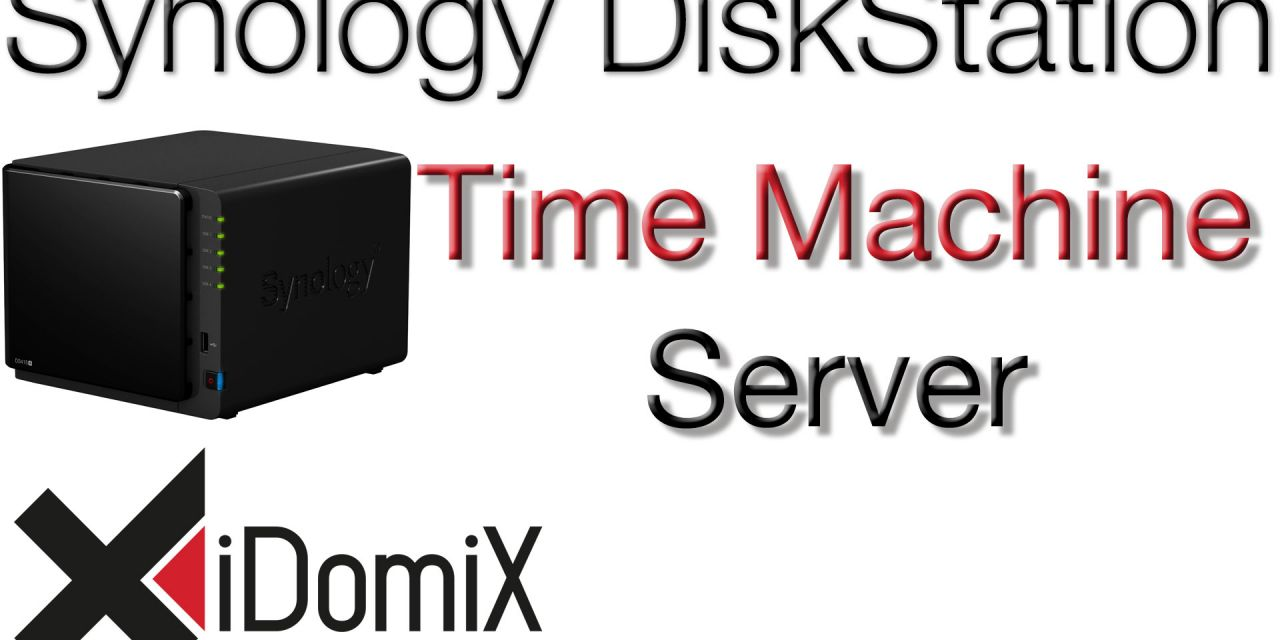Synology DiskStation DSM 6 Time Machine Server einrichten