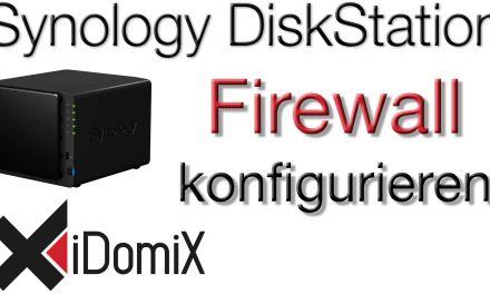 Synology DiskStation DSM 6 Firewall einrichten und HTTPS erzwingen