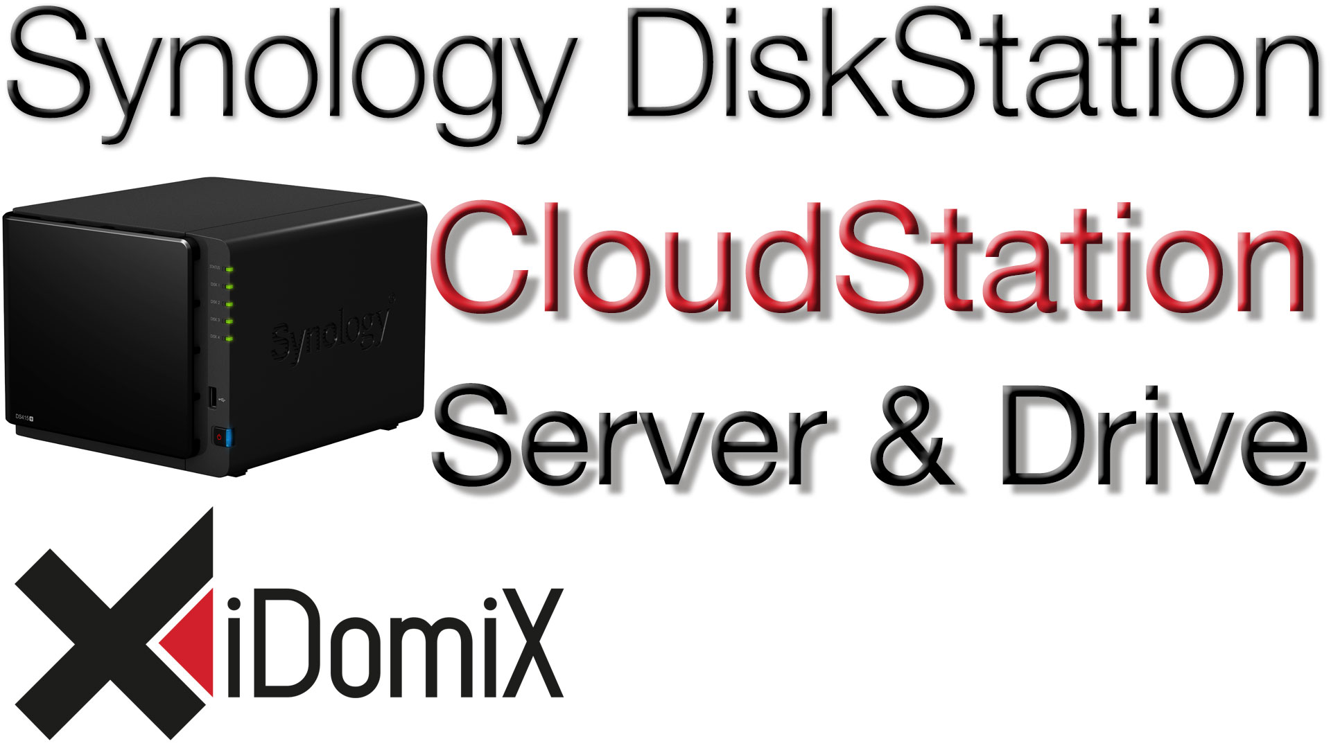 Synology DiskStation DSM 6 Cloud Station Server und Drive einrichten