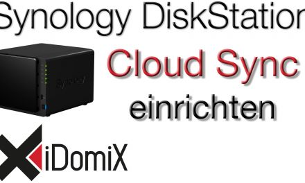 Synology DiskStation DSM 6 Cloud Sync einrichten DropBox, OneDrive, etc.