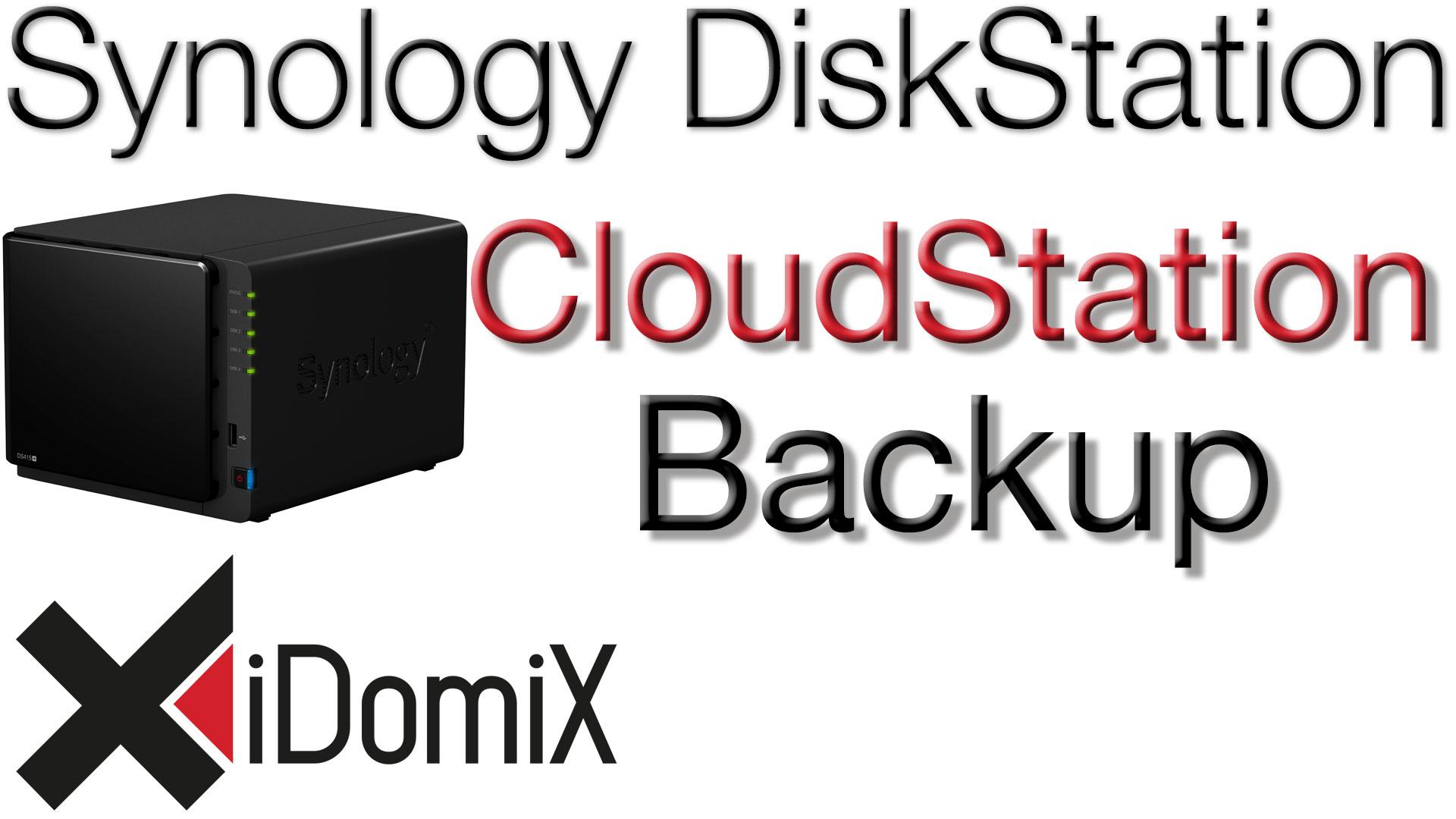 Synology DiskStation DSM 6 Cloud Station Backup einrichten
