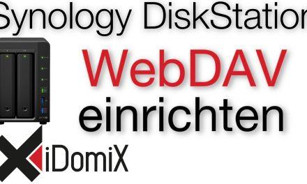 Synology DiskStation DSM 6 Mit Windows über das Internet per WebDAV zugreifen