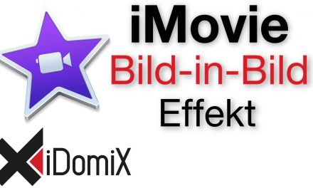 iMovie El Capitan Bild in Bild Effekt