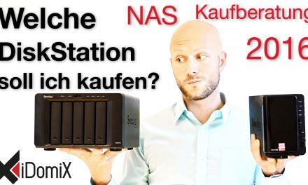 Welche DiskStation soll ich kaufen? | NAS Empfehlung 2016