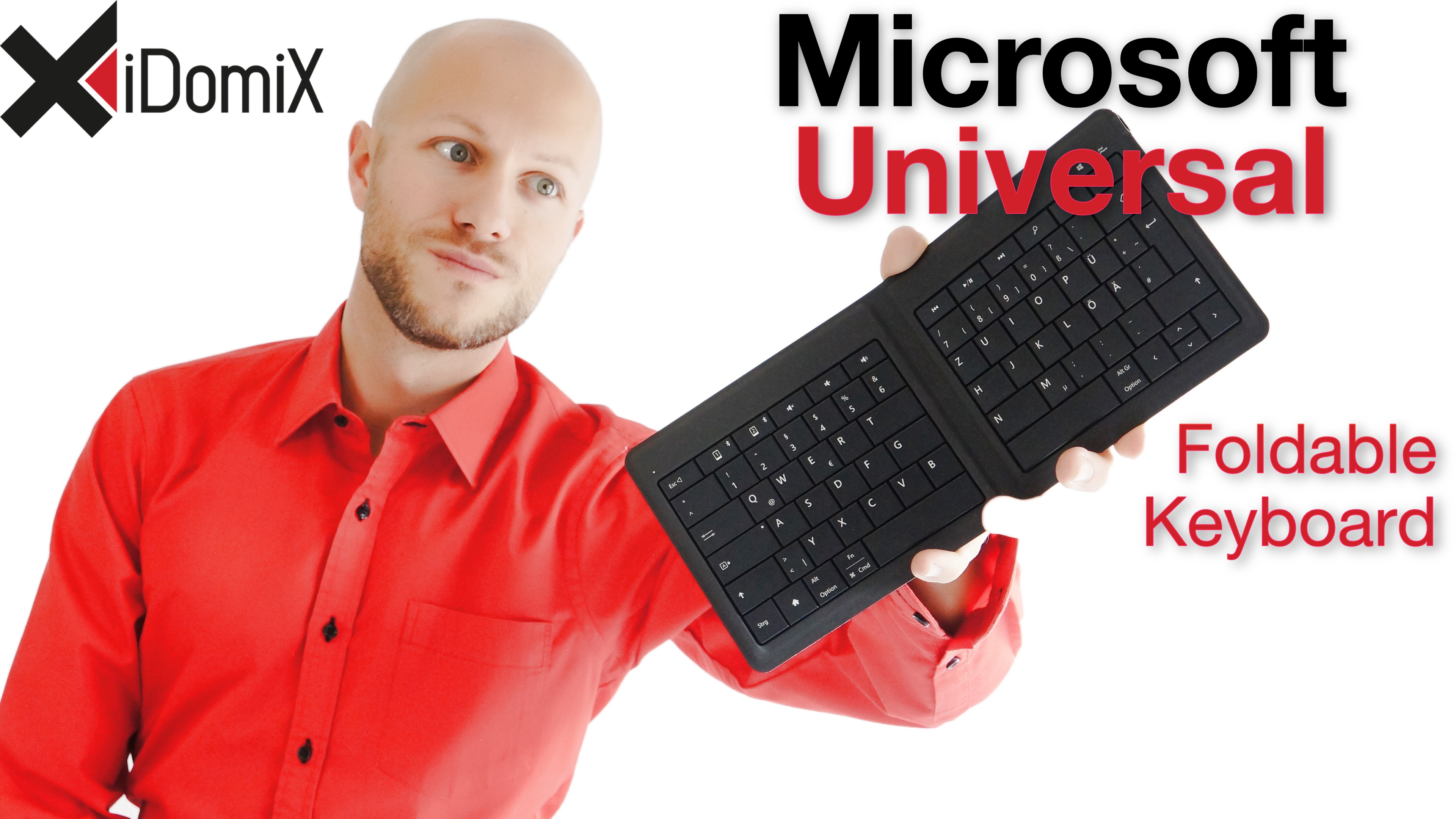 Microsoft Universal Foldable Keyboard Review