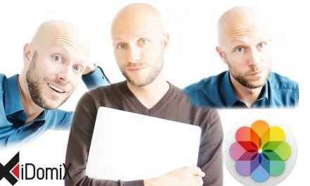Gesichter in der Fotos App von Mac OS (Gesichtserkennung)