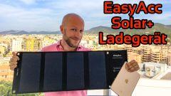 #383 EasyAcc Solar+ Ladegerät im Test