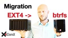 #382 Meine Migration zu btrfs von EXT4 der Synology DiskStation | 4K | iDomiX