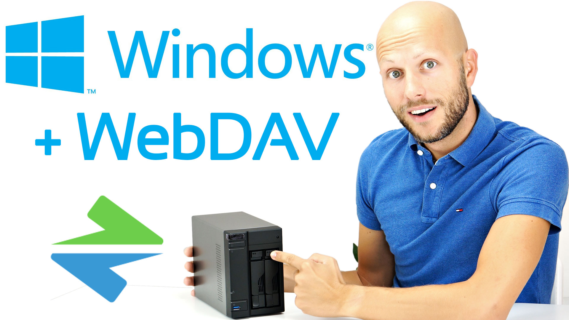 WebDAV mit Windows einfach im Explorer dank NetDrive 2