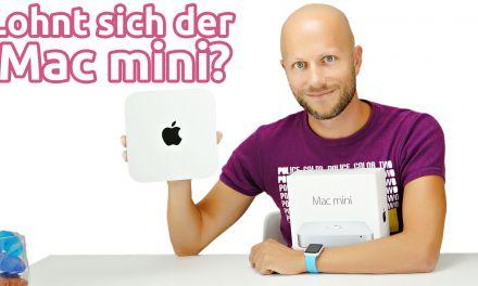 Lohnt sich der Mac mini? Das Einsteigermodell einrichten und vorgestellt