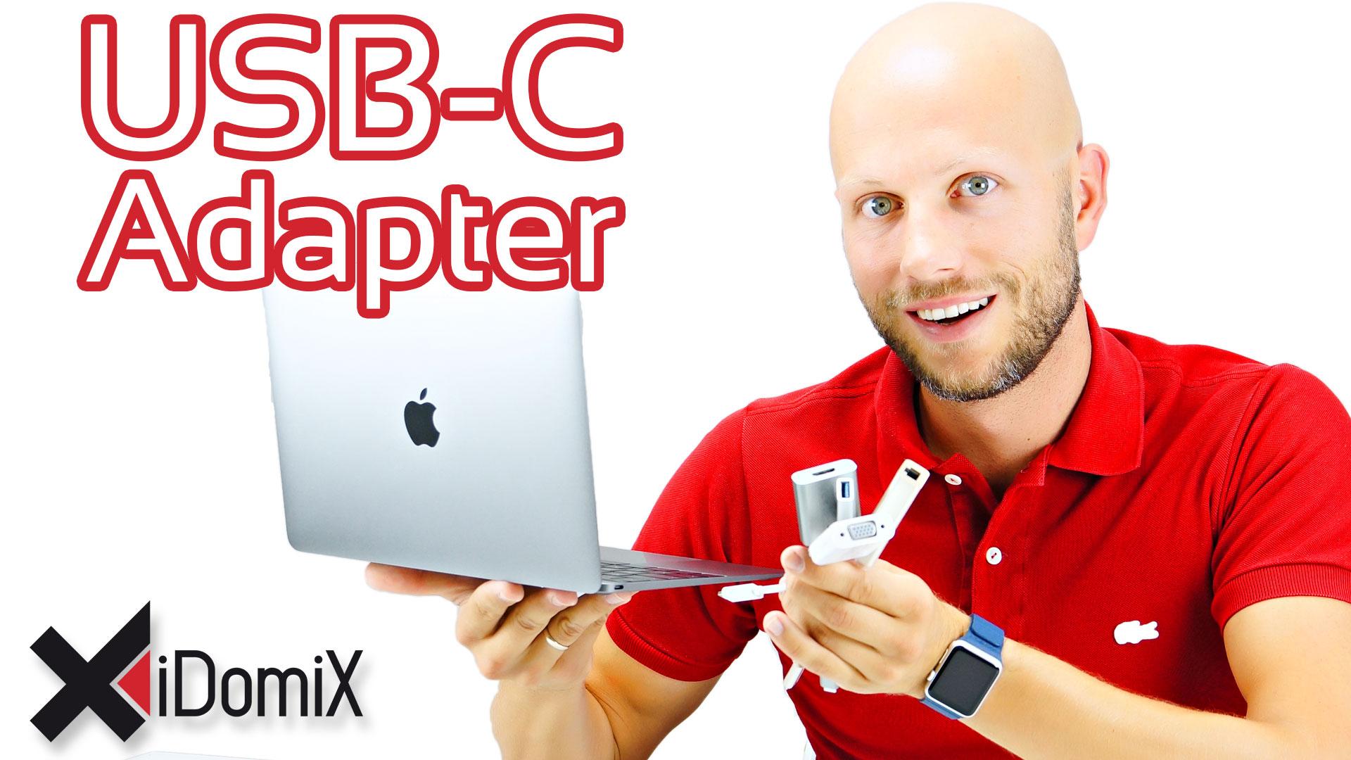 USB-C Adapter auf LAN, USB 3, HDMI, VGA für MacBook 12″