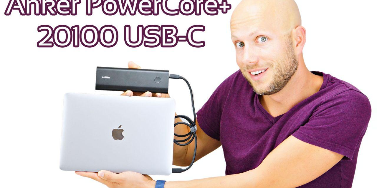 Anker PowerCore+ 20100 USB-C Premium Powerbank