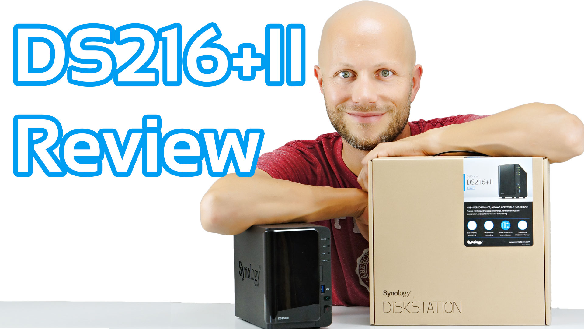 Synology DiskStation DS216+II Review