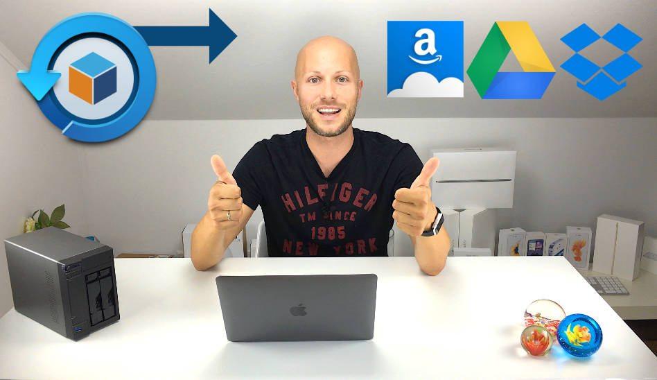Hyper Backup zu Amazon Drive, Google Drive & DropBox