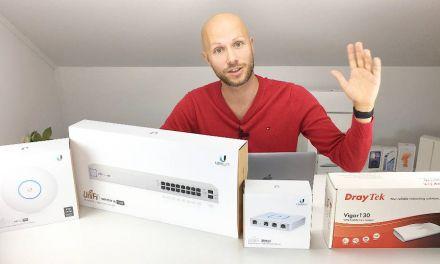 Mein UniFi Netzwerk Aufbau zu Hause und im Home Office