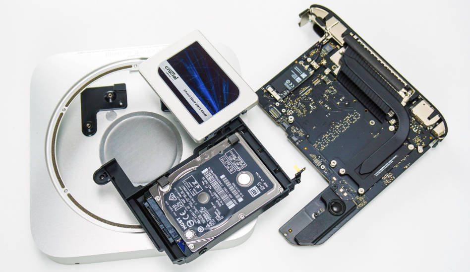 Apple Mac Mini SSD einbauen | Festplatte tauschen