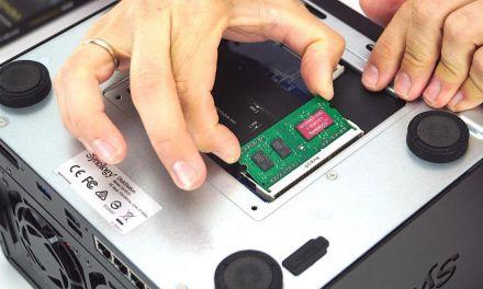 Synology DiskStation DS1517+ mit 16 GB RAM aufrüsten