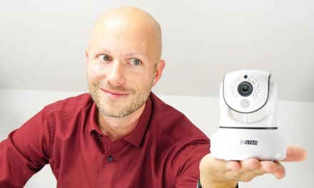 IP-Kamera Tag/Nacht mit Wärmesensor PAN/TILT 1920×1080 Full HD