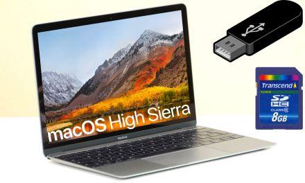 macOS High Sierra USB Stick für Installation erstellen