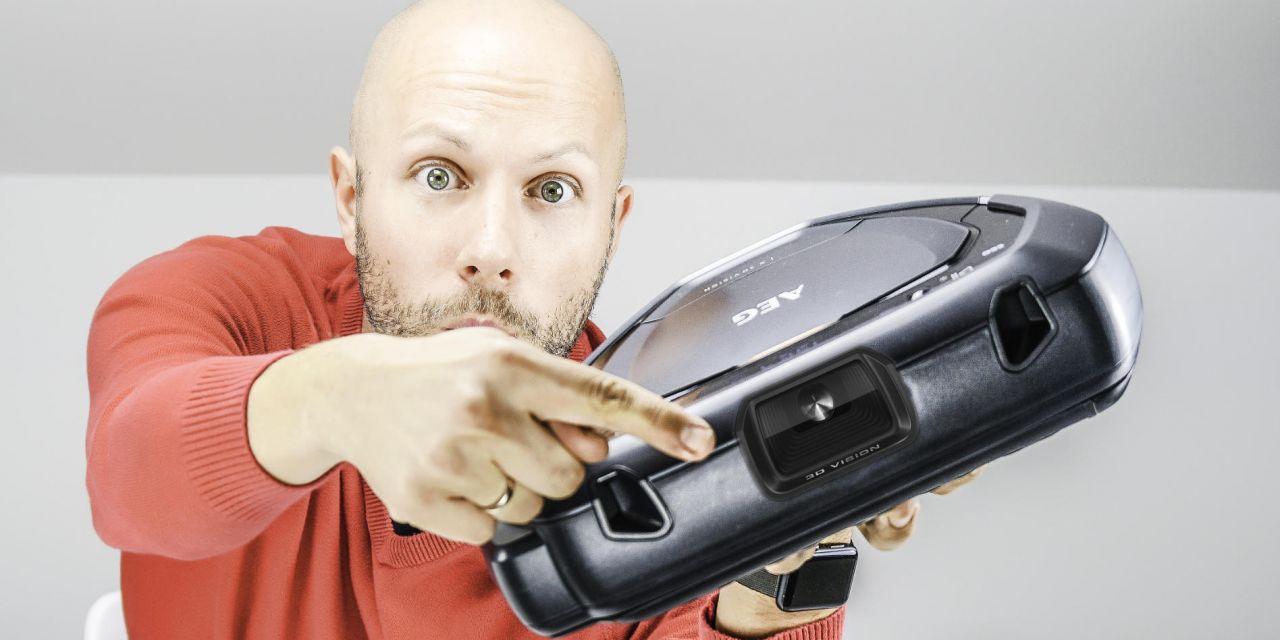 AEG RX9 Saugroboter mit Kamera & Zimmerkarte Review