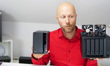 Synology DiskStation leiser + kühler machen, Lüfter tauschen