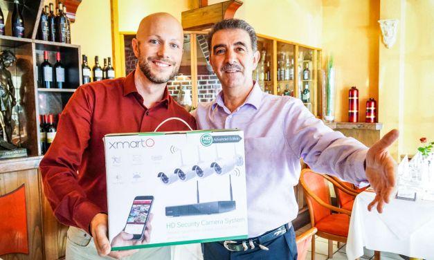 Das xmartO NVR Überwachungssystem im Restauranteinsatz