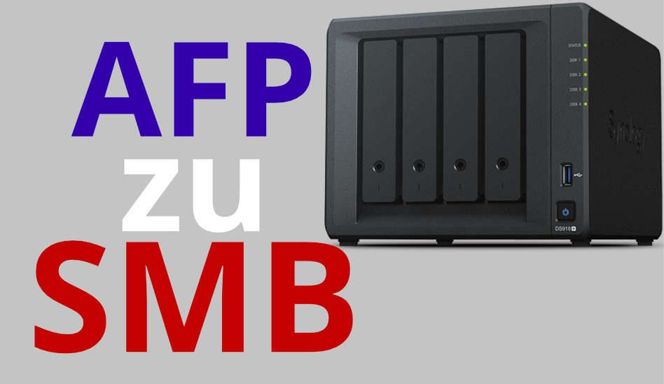 macOS AFP auf SMB zu DiskStation umstellen + SMB Time Machine Backup