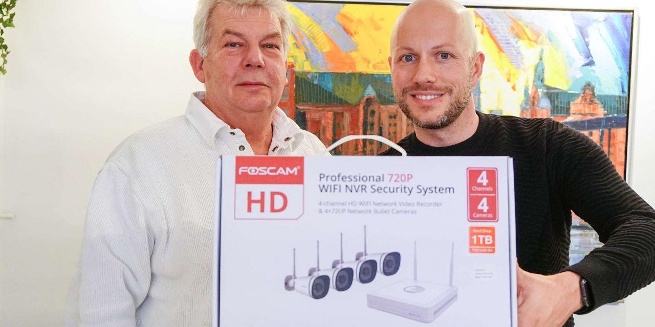Foscam NVR Überwachungssystem im Privathaushalt