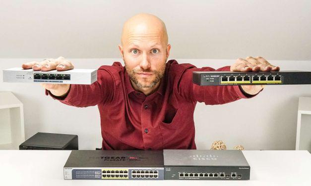 Switch mit Link Aggregation + PoE zum kleinen Preis für daheim
