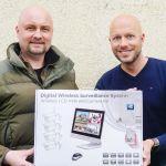 Inkovideo NVR Überwachungssystem mit Monitor für kleines Geld