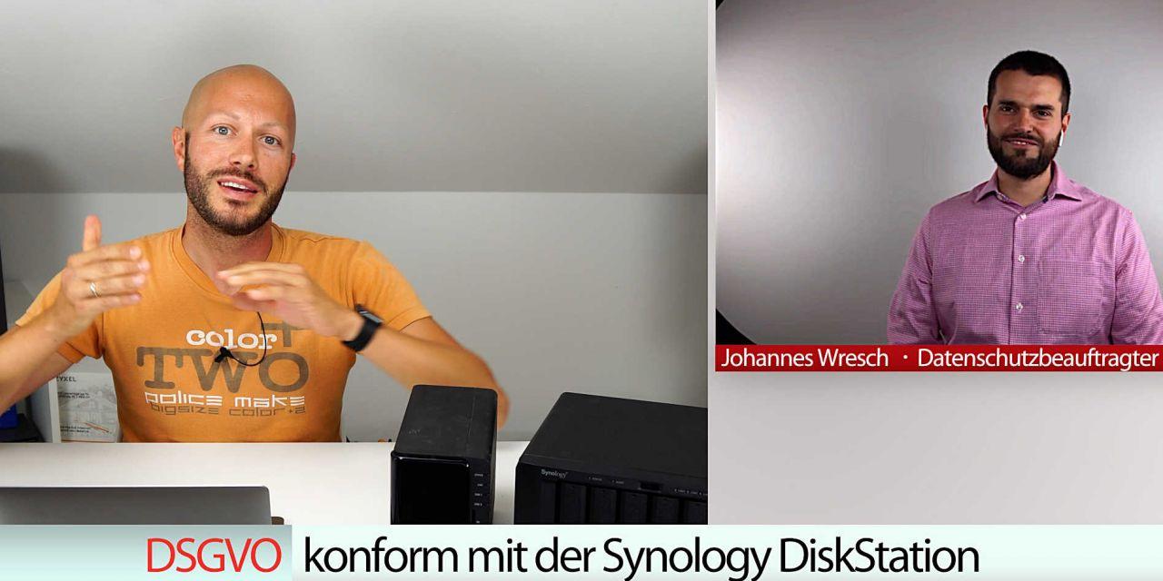 DSGVO konform mit der Synology DiskStation