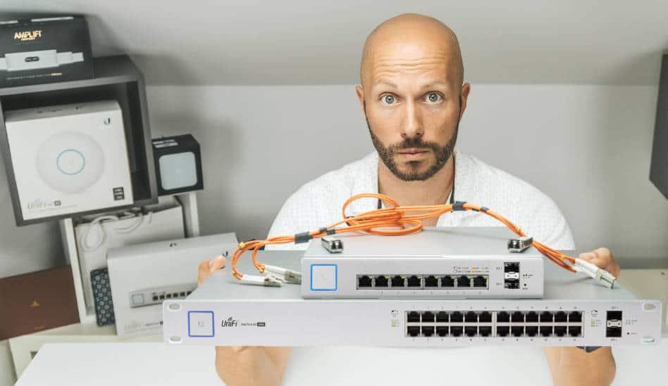 UniFi PoE Switches, 8, 16, 24 Port, laut? zu heiß? wie verbinden?!