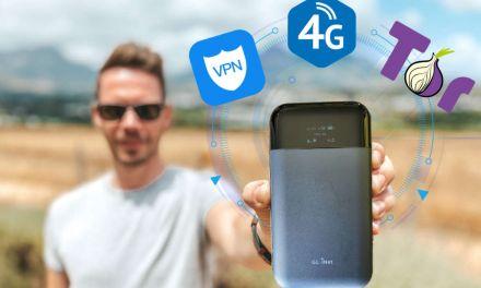 Ultimativ sicher: 4G/LTE Hotspot Router GL.iNet Mudi